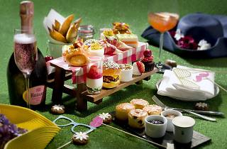 Picnic-inspired afternoon tea