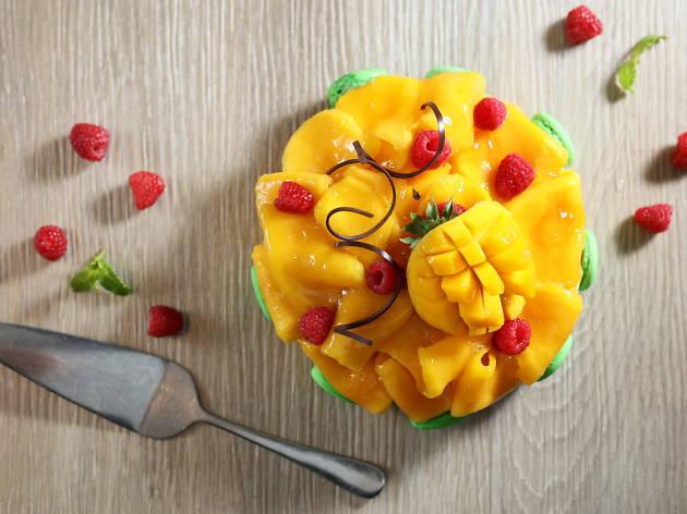 Add@Prince's mango afternoon tea buffet