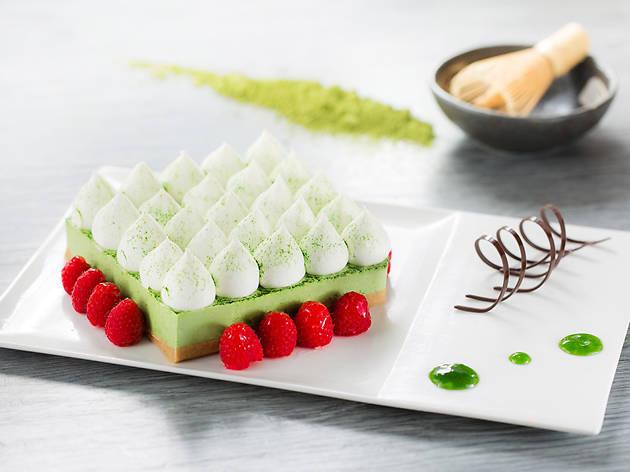 Green Tea Beancurd Cheesecake Park Cafe