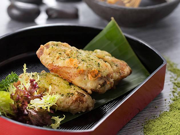 Green Tea Chicken Wing Park Cafe