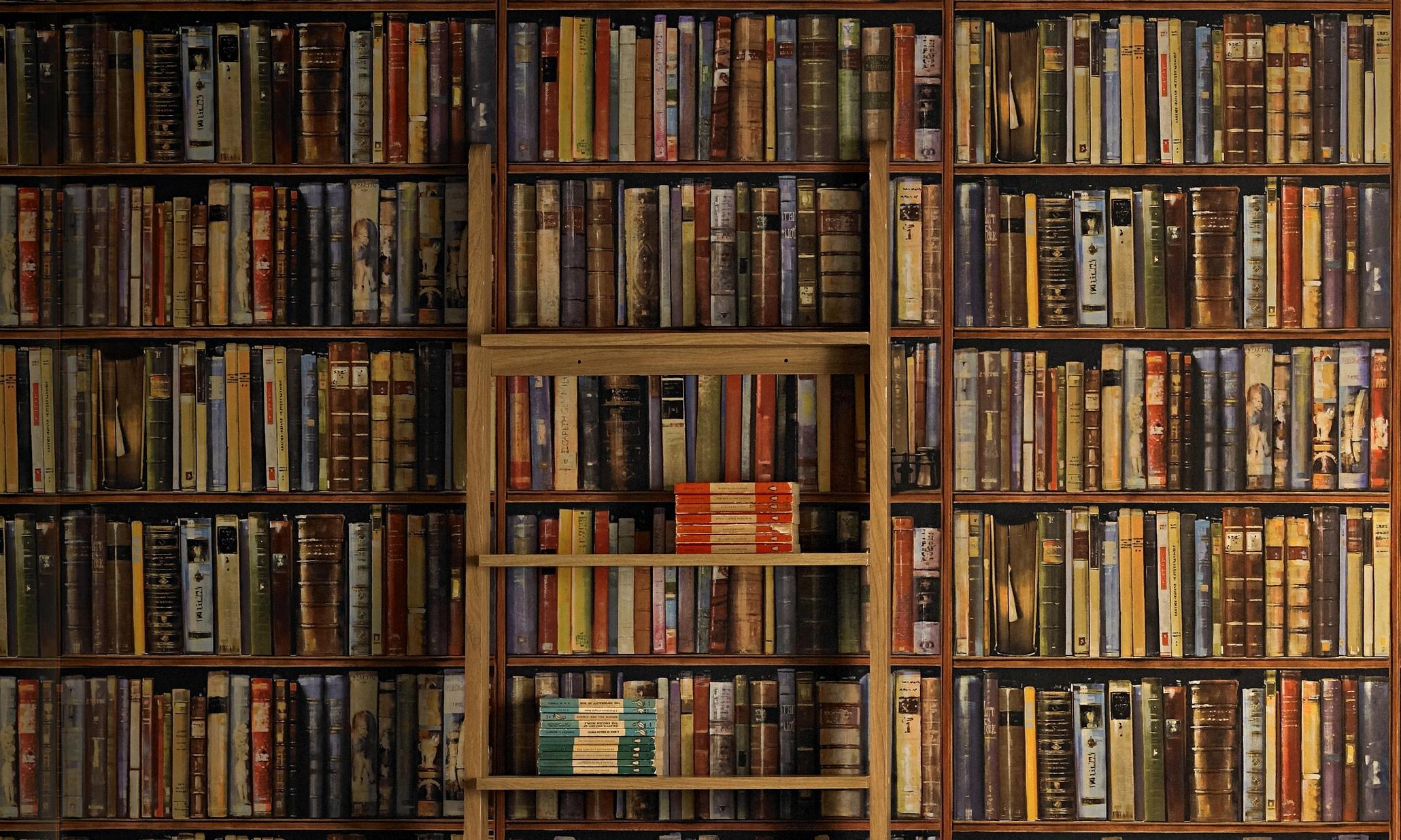 bookshelf wallpaper hd ol - photo #18
