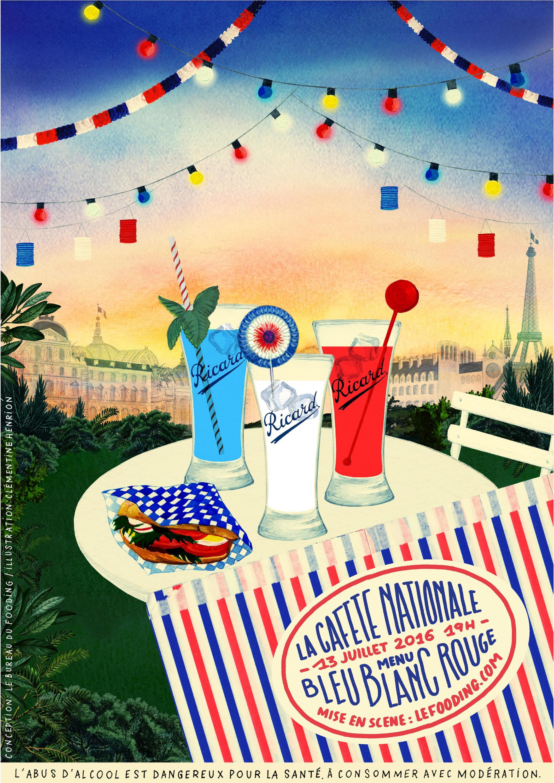 Le 13 Juin, Le Fooding organise son gueuleton bleu blanc rouge