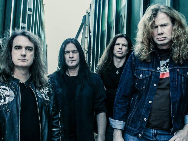 Megadeth en la Ciudad de México