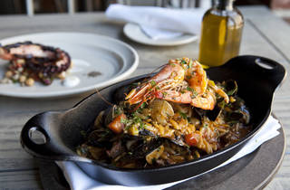 Greek Shellfish Paella at MP Taverna