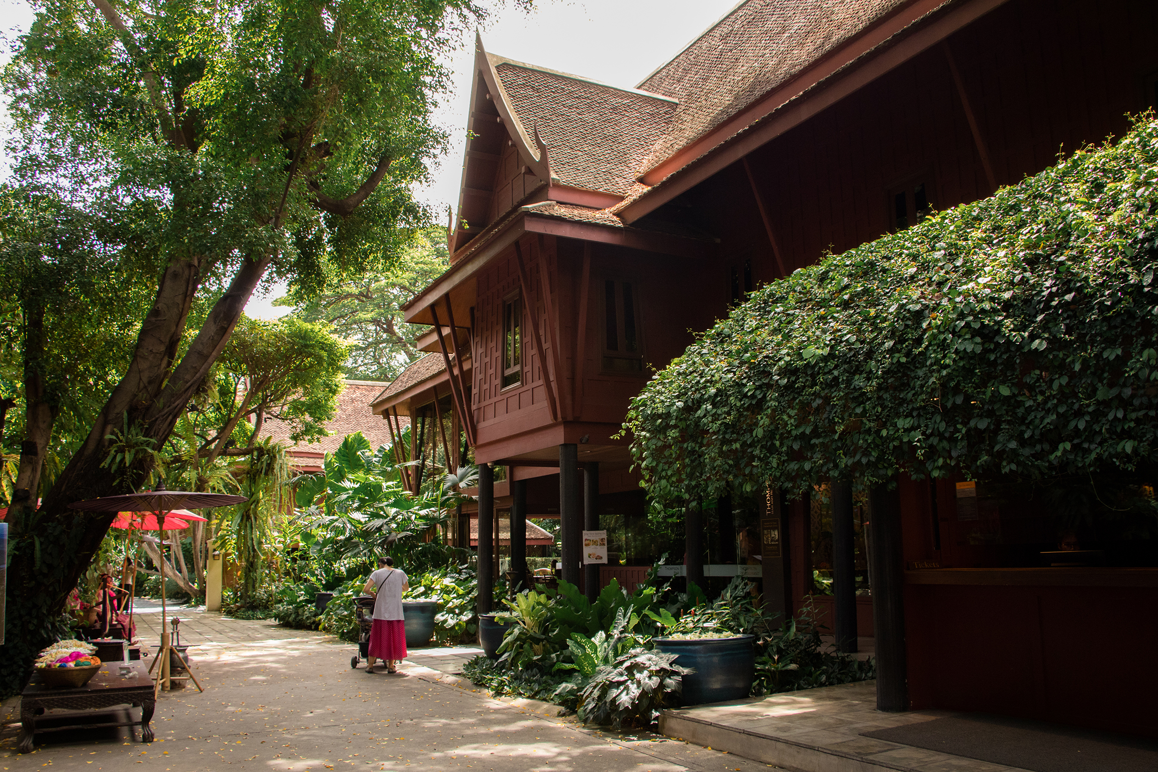traditional Thai architecture of Thai house