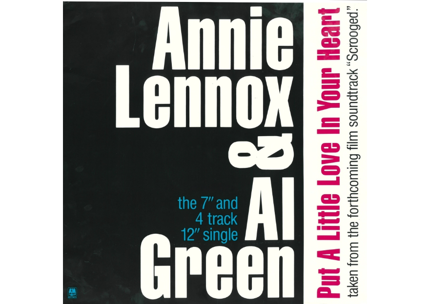 Best Christmas songs Al Green and Annie Lennox - Put a Little Love in Your Heart