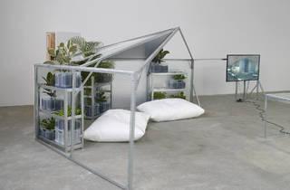 Yuri Pattison, half relief shelter zone for user, space