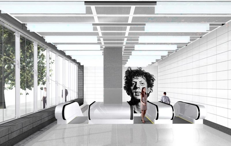 Twelve Chuck Close mosaics will grace the Second Avenue Subway