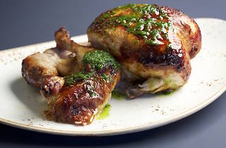 Hellenic Hotel roast chicken