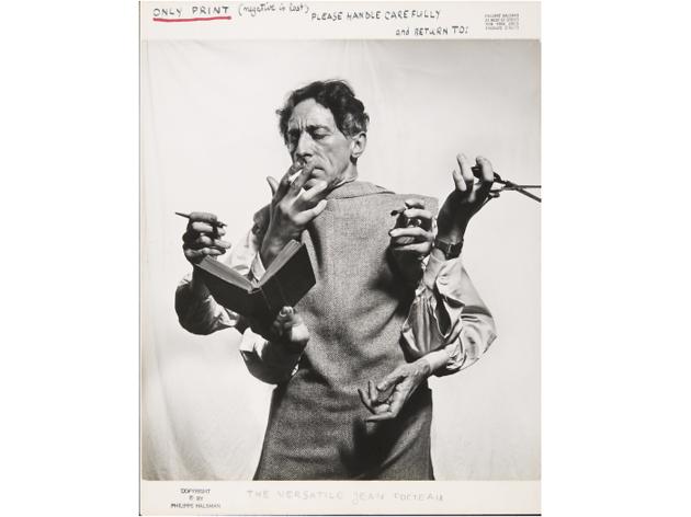 Philippe Halsman, Jean Cocteau, 'L'artista multidisciplinari'