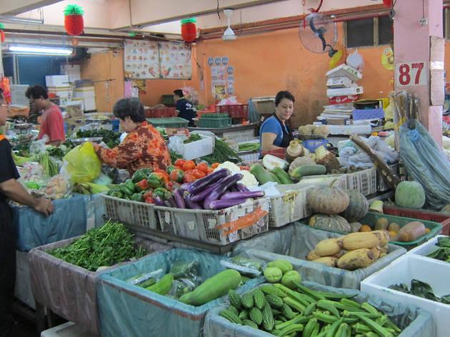 Taman Cheras wet market