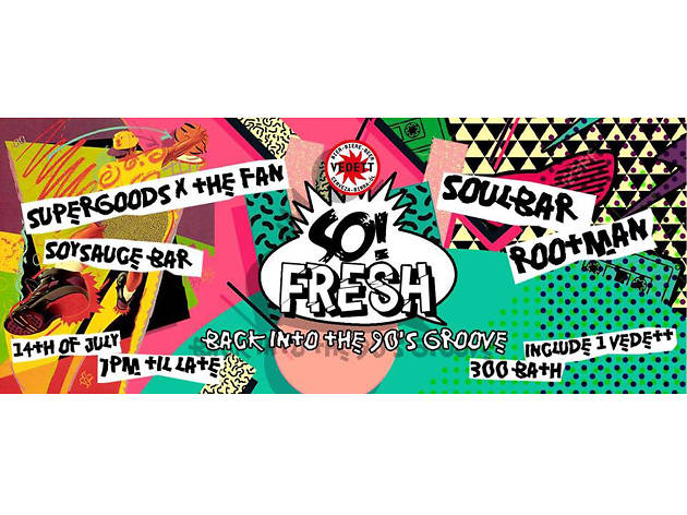 So! Fresh: Back into the 90's Groove