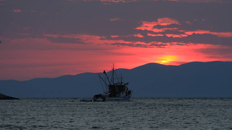 Fishing boat, Mljet