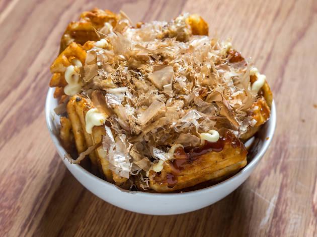 Okonomi fries at Emmy Squared