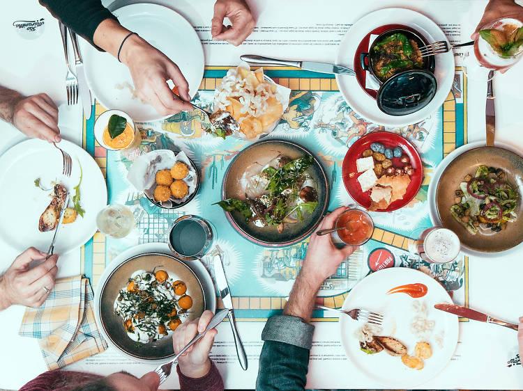 Os melhores sítios para jantares de grupo em Lisboa