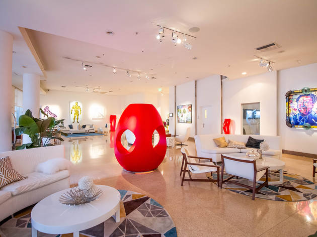 Four Miami hotels with cool art exhibits and installations