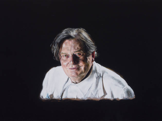 Archibald Prize 2016 winner Barry Humphries by Louise Hearman