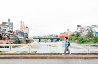 Mutsumi Tuzaki's perfect day in Kyoto