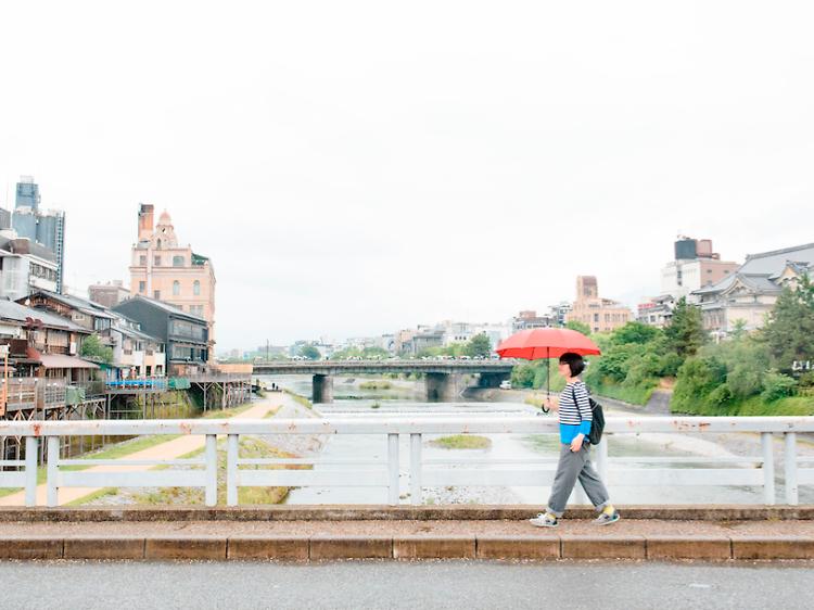 Mutsumi Tsuzaki's perfect day in Kyoto