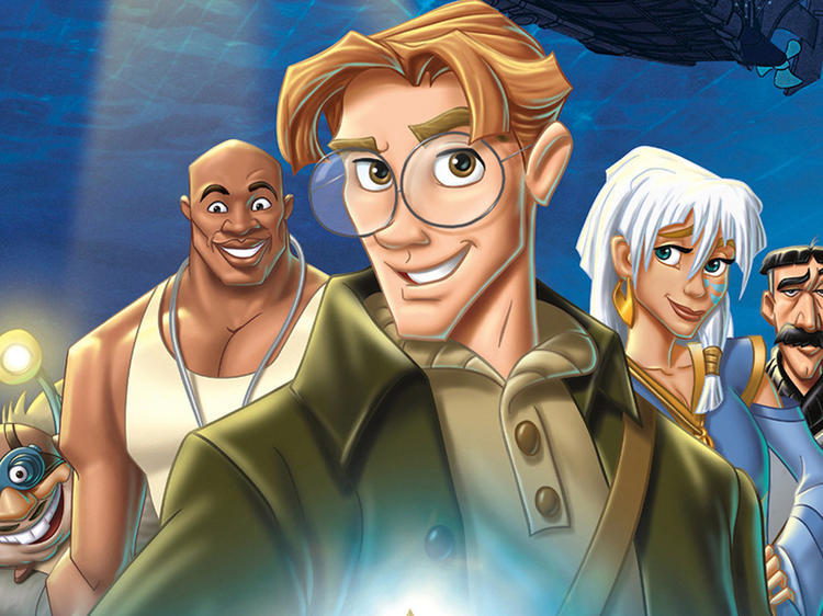 Atlantis – The Lost Empire (2001)