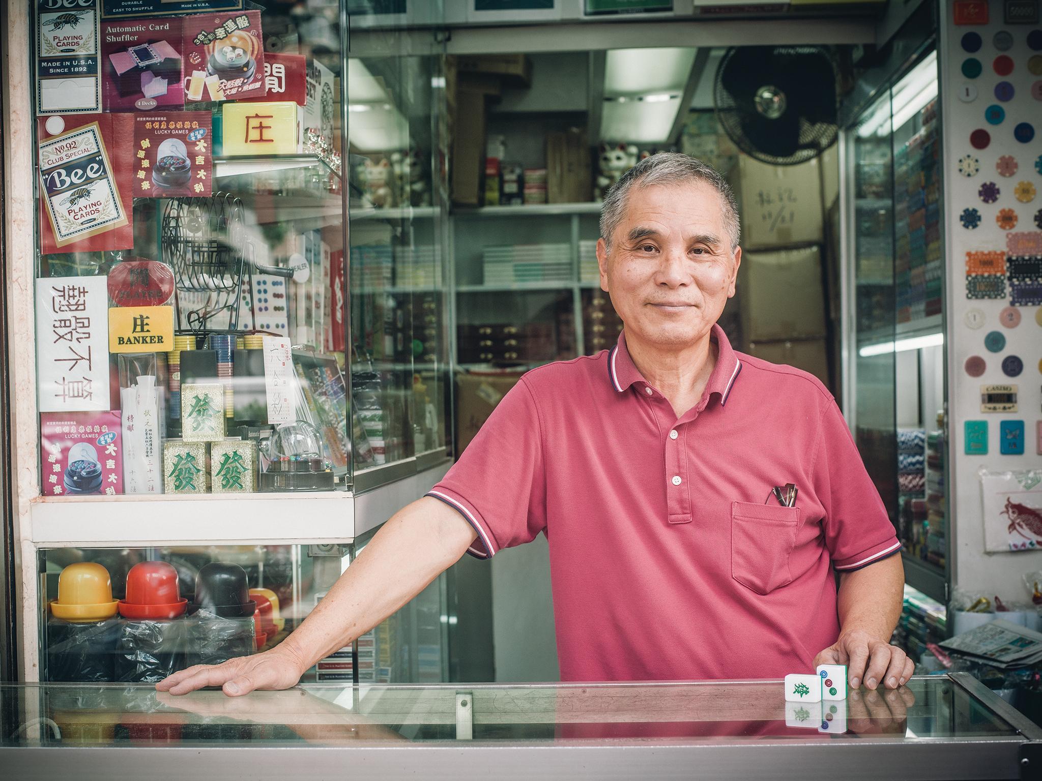 Cheung Shun-king – Mahjong tile artisan