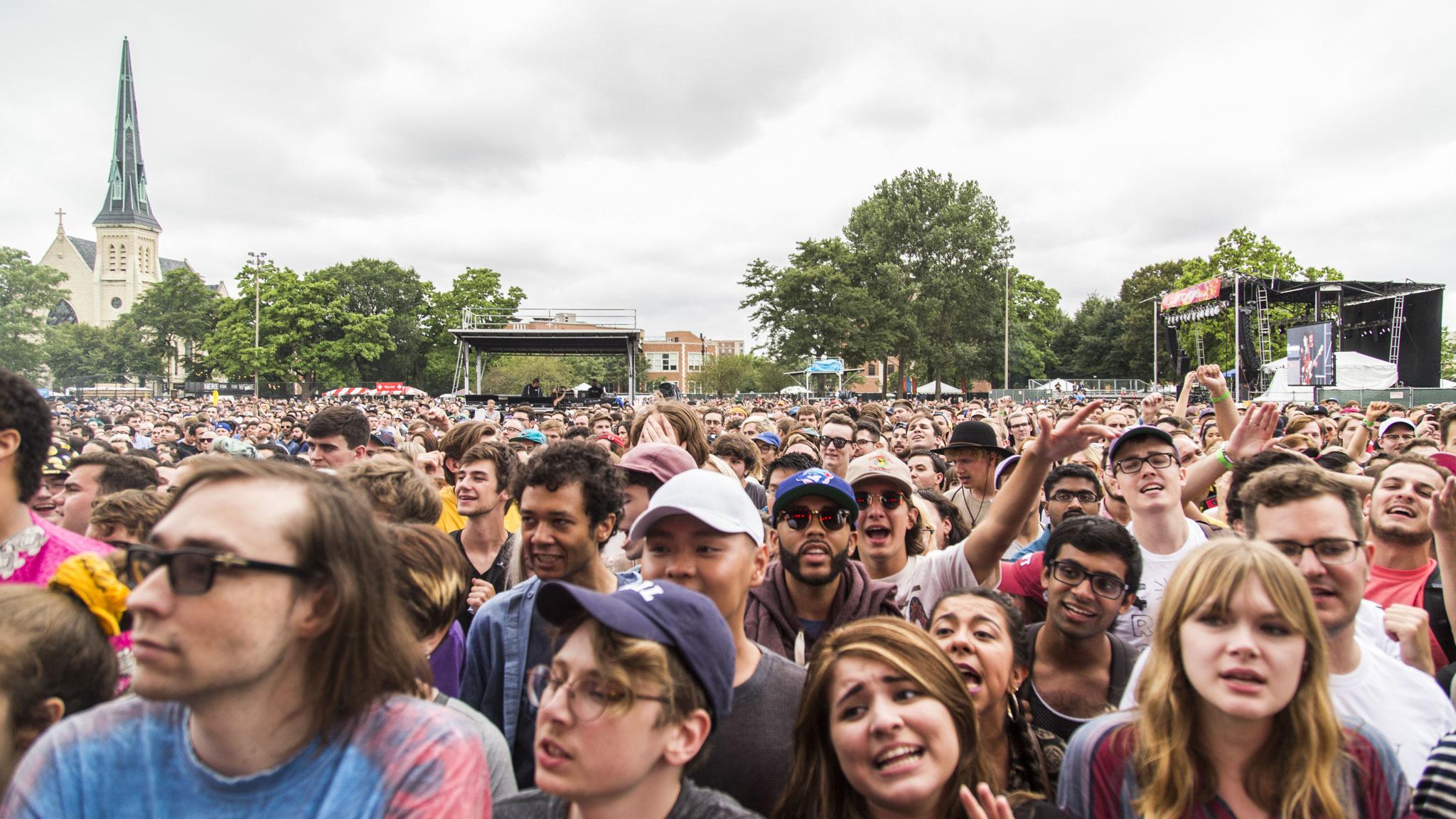 Pitchfork Music Festival 2016, Friday