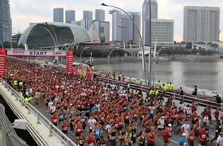 SAFRA Bay Run & Army Half Marathon