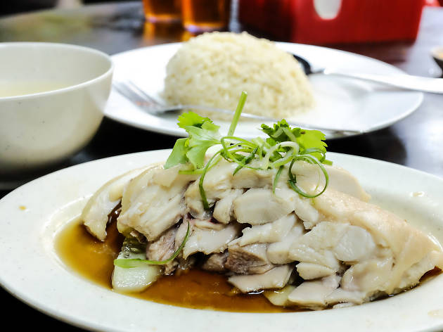 Chicken rice at Kar Heong, from RM5.50