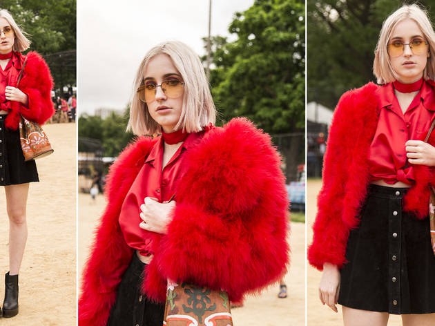 Pitchfork Music Festival 2016, fashion