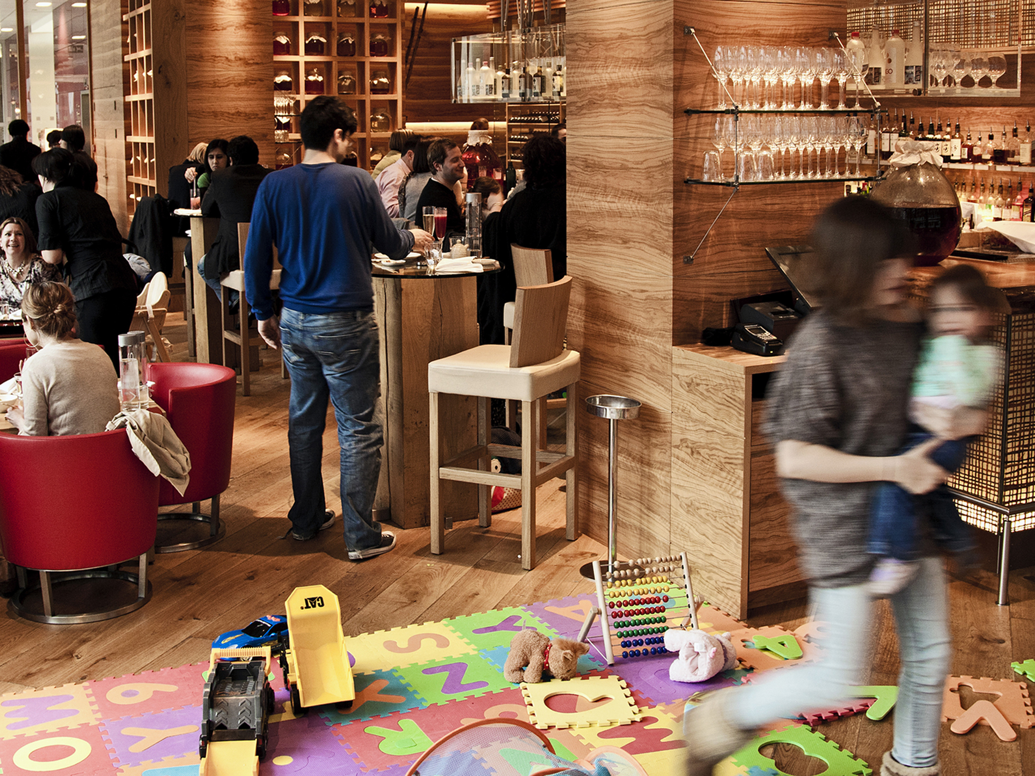 best child-friendly restaurants in london, roka