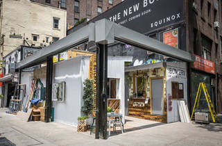 New York's first outdoor sushi bar is open on the Bowery