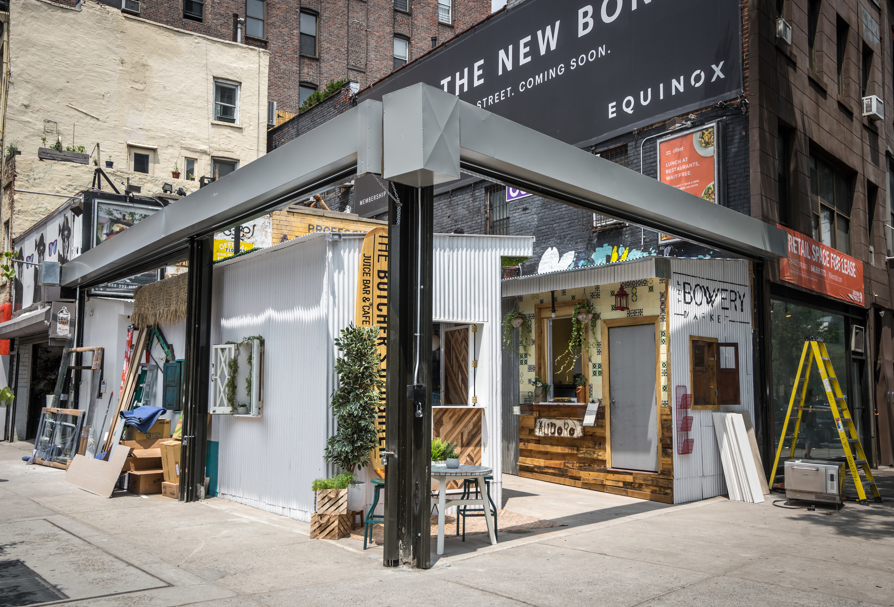 New york s first outdoor sushi bar is open on the bowery