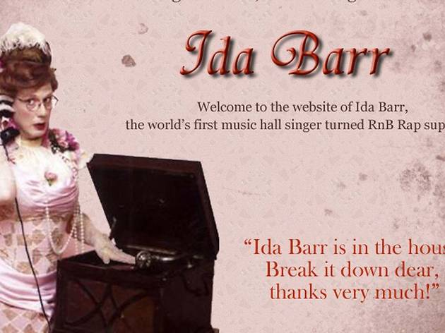 Ida Barr In Artificial Hip Hop