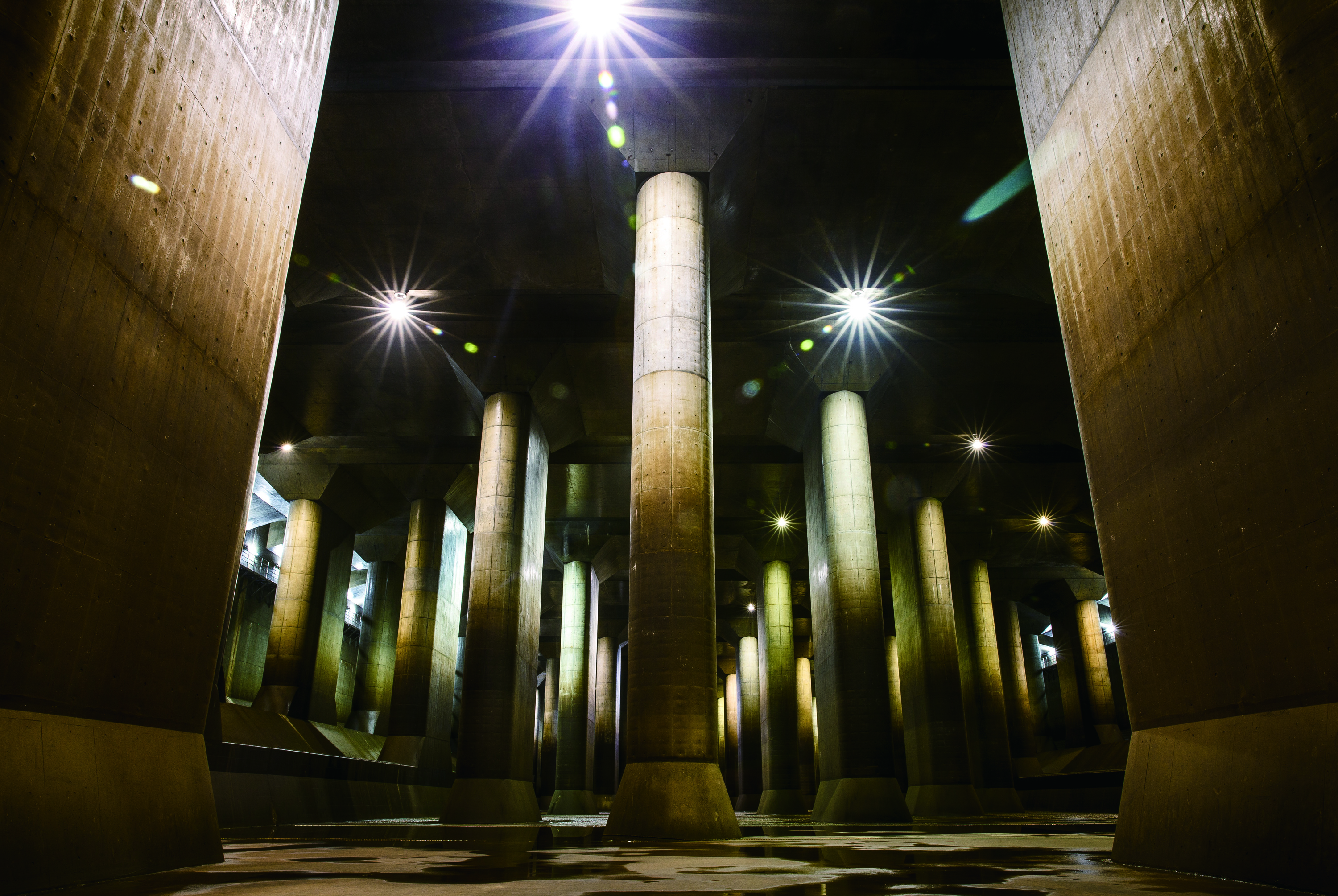 Metropolitan Area Outer Underground Discharge Channel | Time Out Tokyo