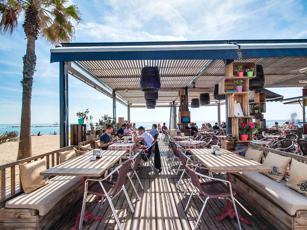 Top beach bars in Barcelona