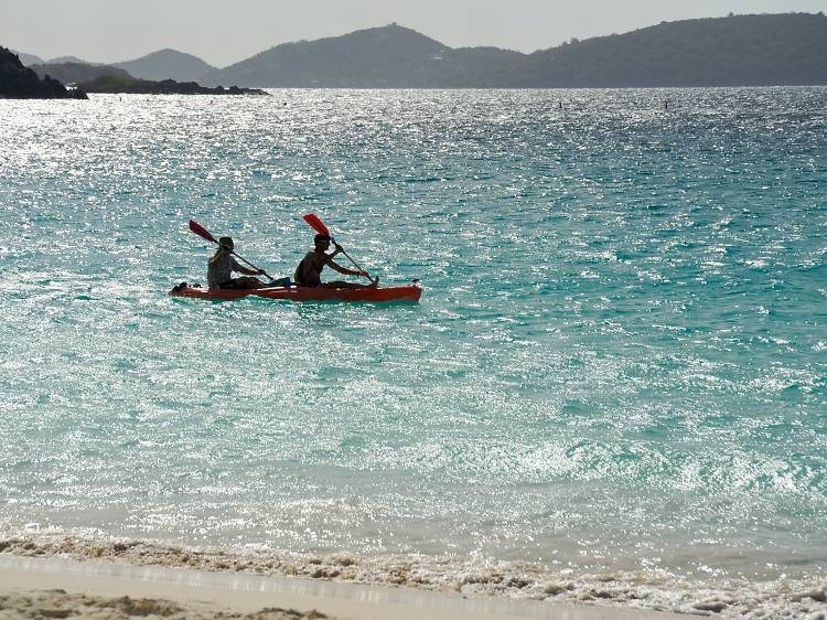 Explore by kayak or boat
