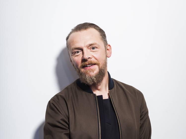 """Simon Pegg: """"A colaboração é o mais importante"""""""