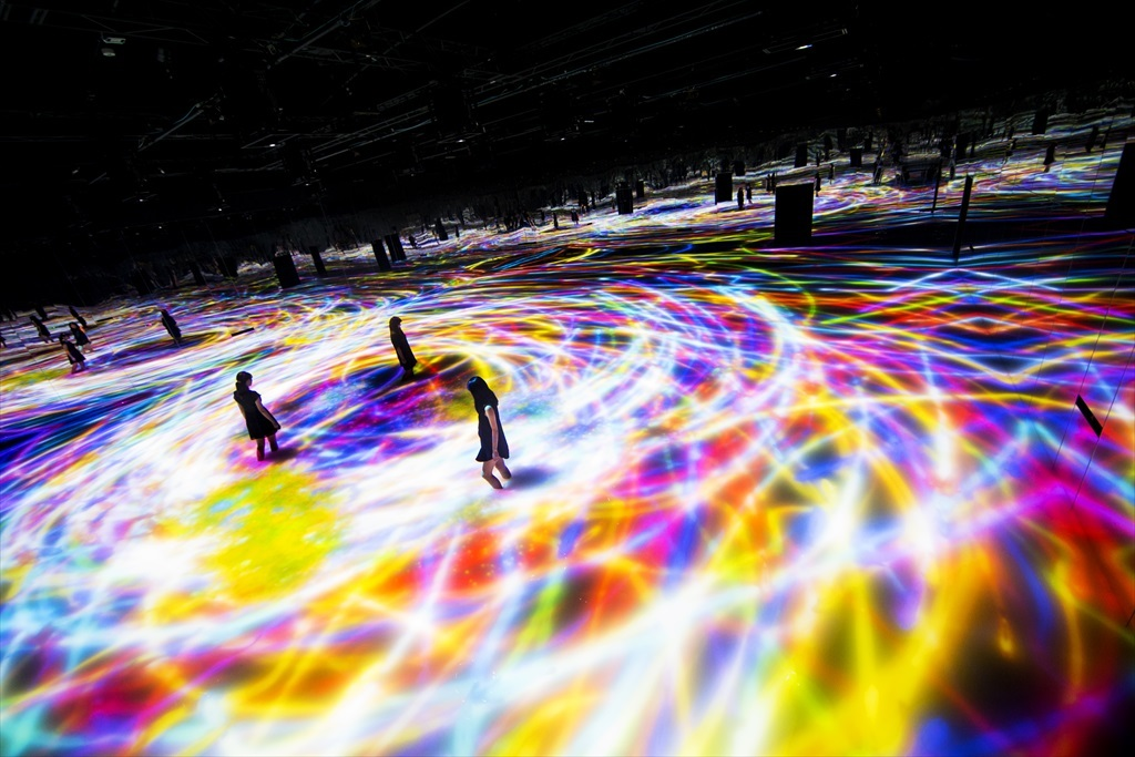 DMM Planets – Art by teamLab