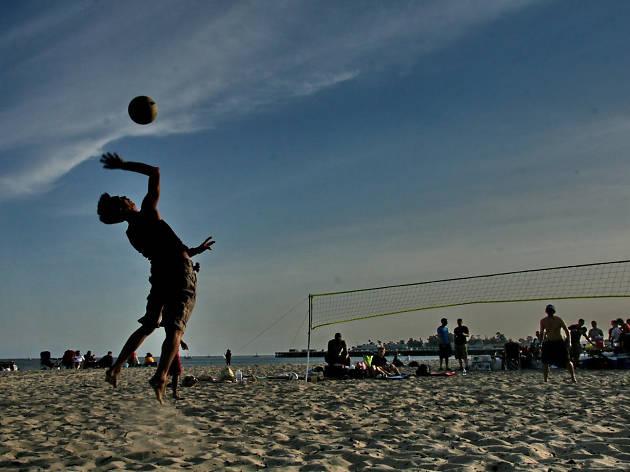 Rockaway Beach Volleyball League