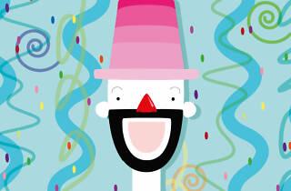 Le Gus clown de la Cachamosqué