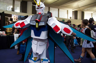 Gundam at SMASH (Photograph: Herman Zeng)