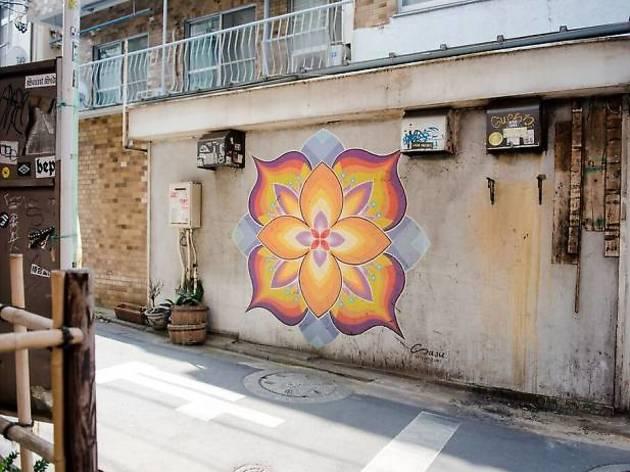 Sasuのストリートアート