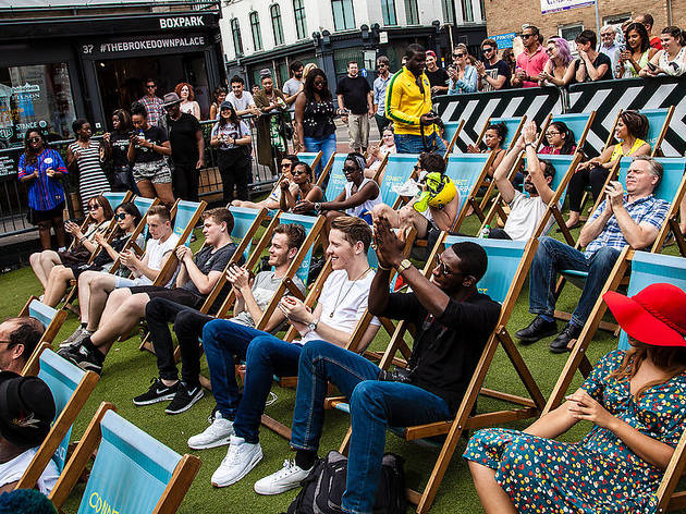 Boxpark olympic Screenings