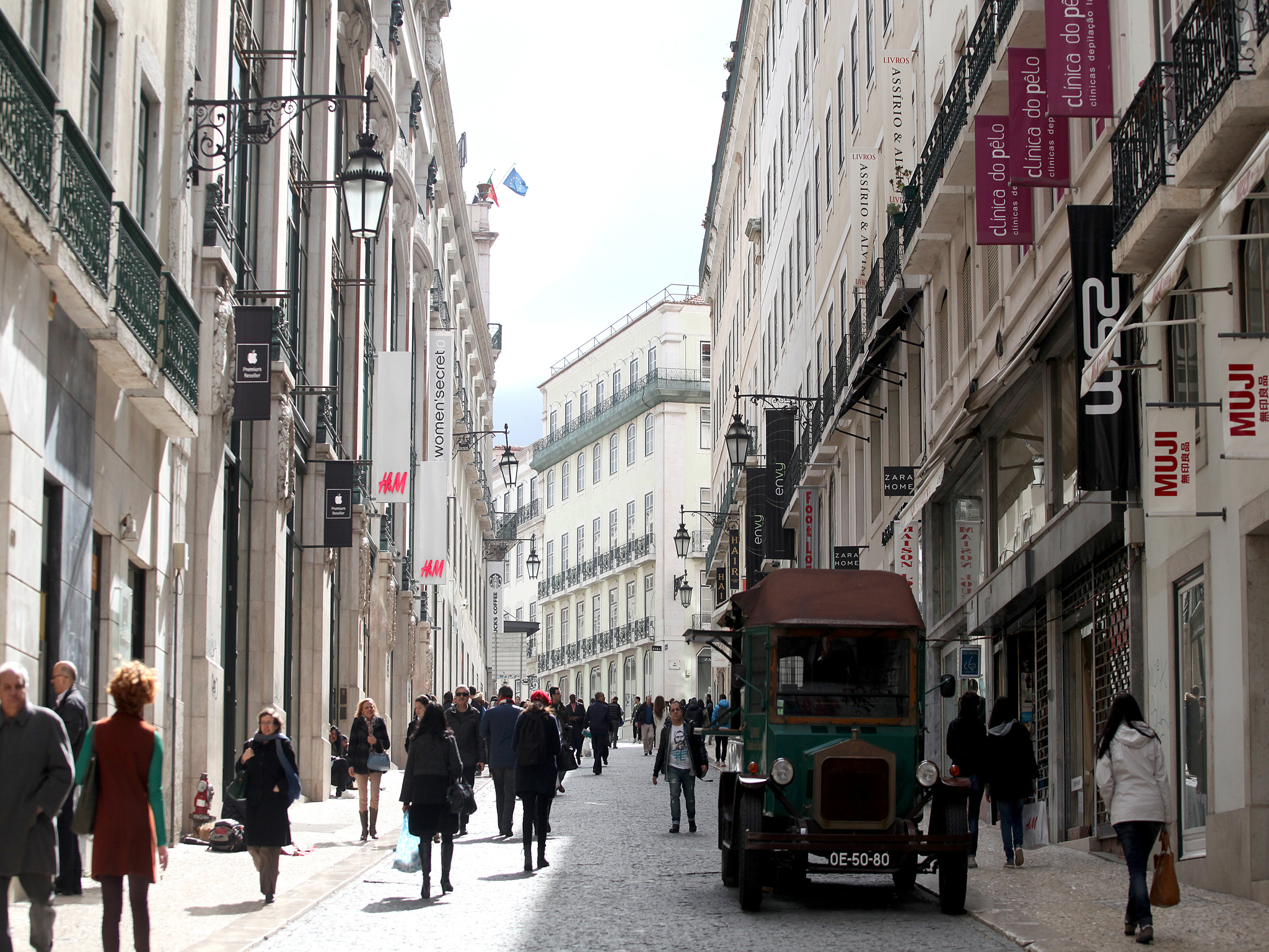 As dez melhores ruas de Lisboa