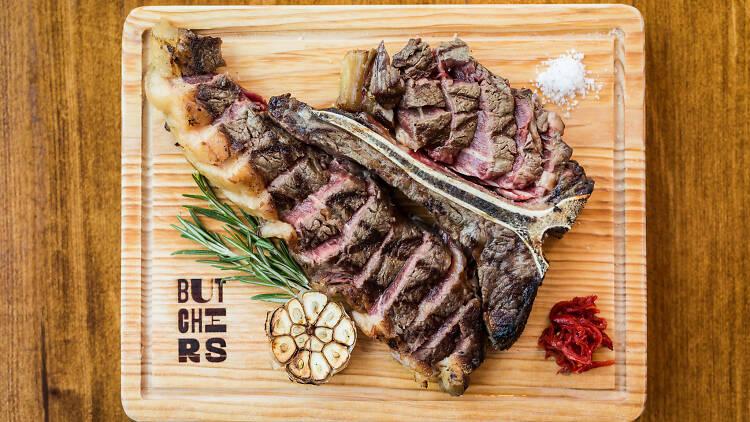 T Bone Steak do Butchers