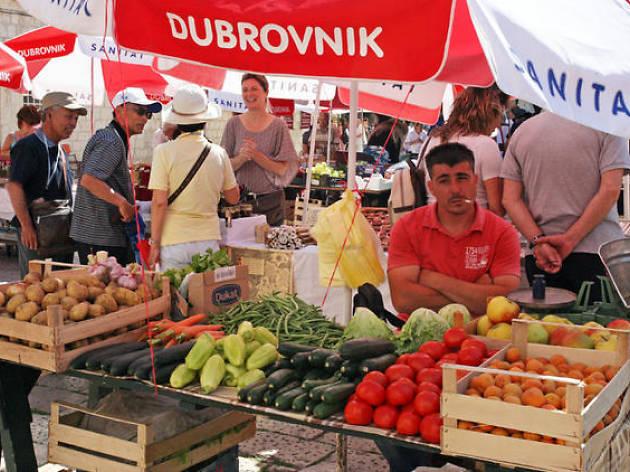 Gundulić market
