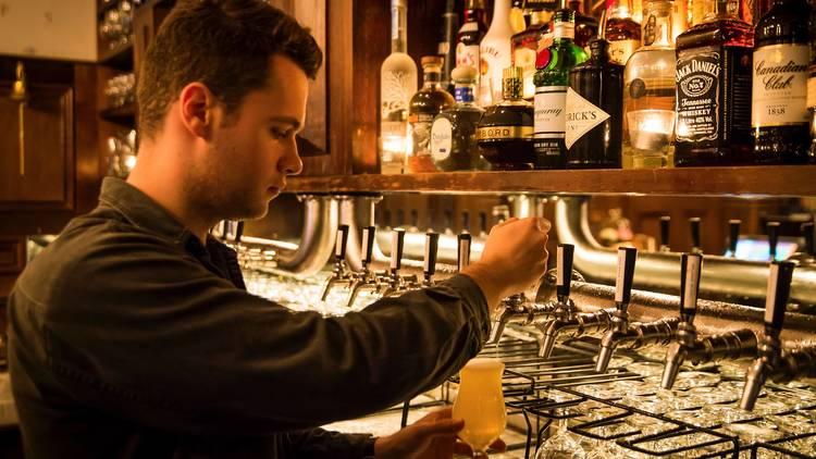 Bartender at Local Taphouse, Darlinghurst