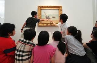子ども美術鑑賞会