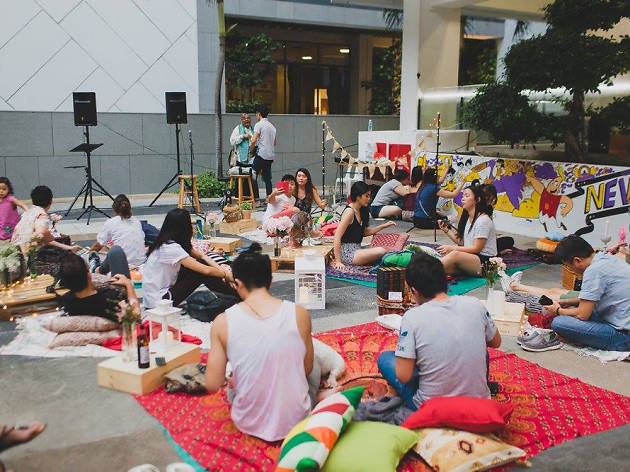 The Local People X Aliwal Art Centre Sarong Party Art Market