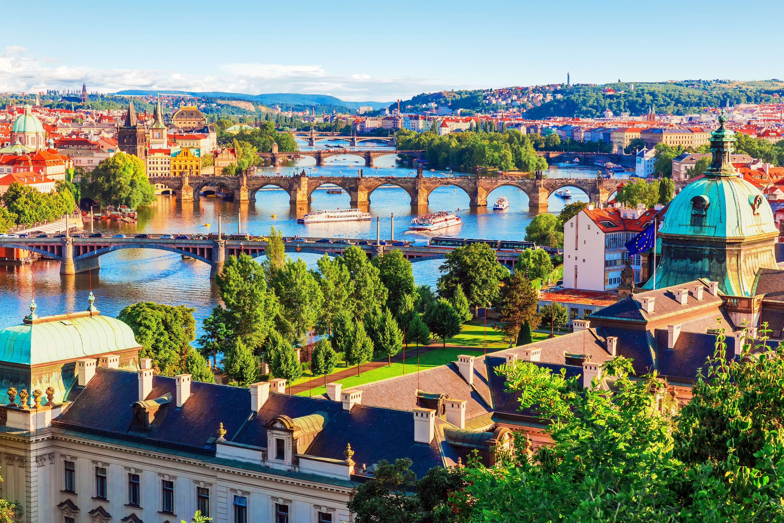 Win a trip to Prague with Stansted Express